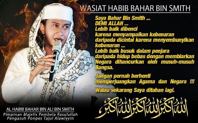 """Habib Ali: """"Banyak yang memojokkan Bahar Smith menganiaya ..."""