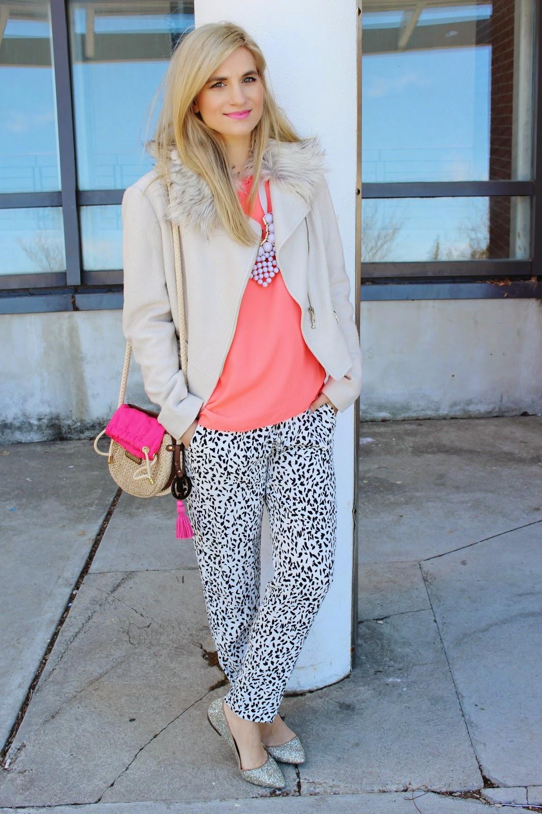 bijuleni - zara pattern pants
