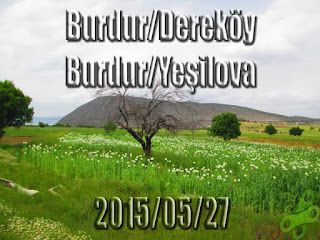 2015/05/27 Buralarda geziyorum bisiklet turu (BGBT) 13. Gün (Burdur/Dereköy - Burdur/Yeşilova)