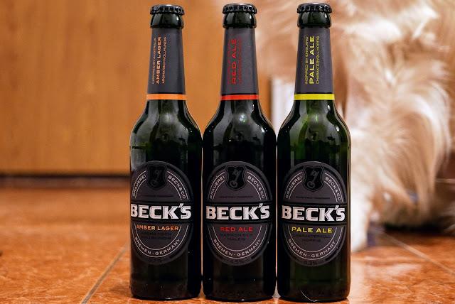 Proaspăt lansate: Beck's Amber Lager, Red Ale și Pale
