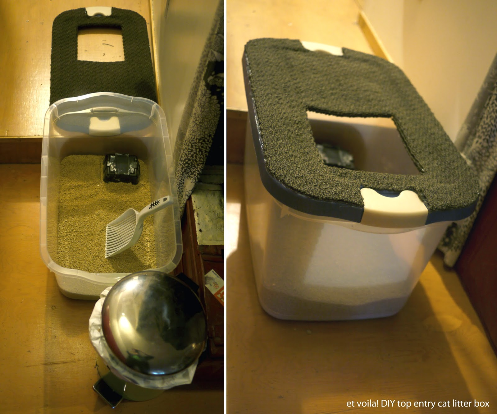 Roam & Co.: | DIY litter box...