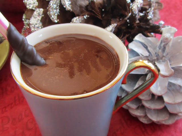 Santa Hot Chocolate Recipe At Home with Rebecka