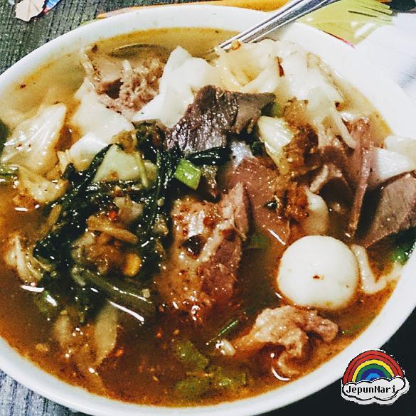Mee celup Kelantan
