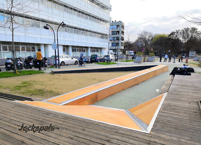 skate plaza javel paris 15