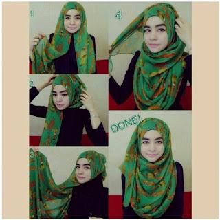 Tutorial Hijab Paris Modis 2015