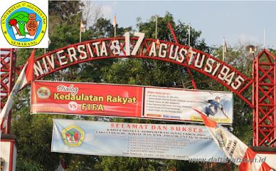Daftar Fakultas dan Program Studi Universitas 17 Agustus 1945 Semarang