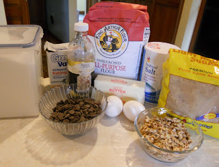 Perfect Chocolate Chip Cookie Ingredients