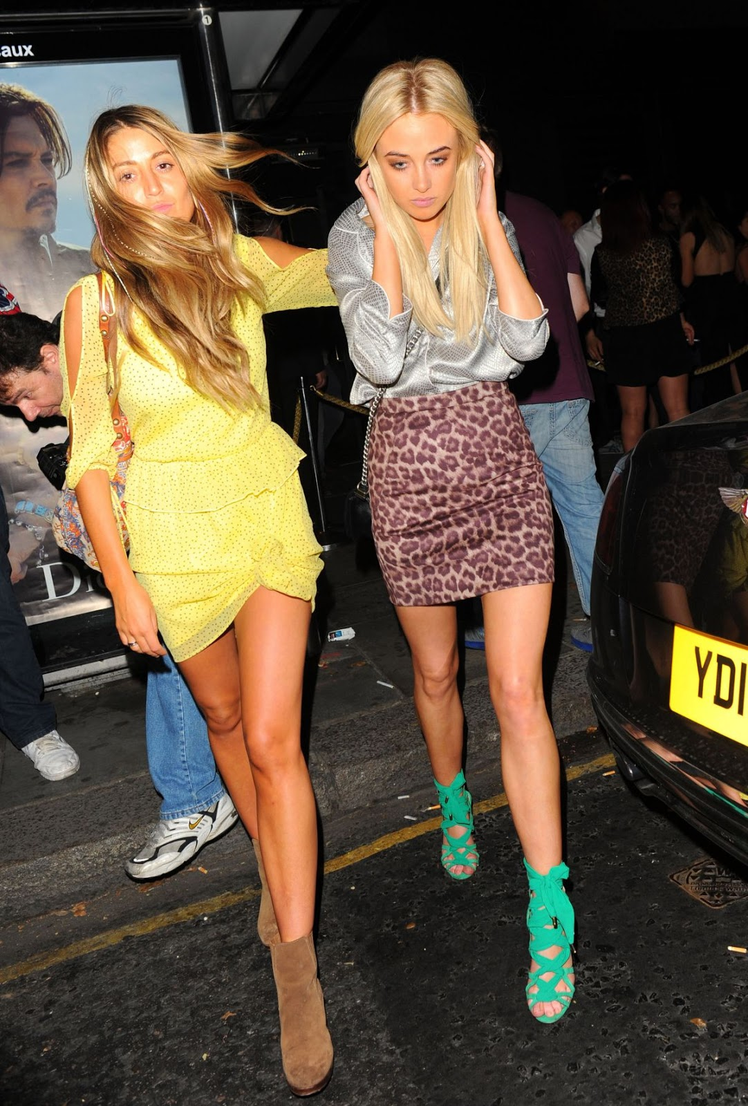 Vicky Pattison and Nicola Hugher Leaves our Girl TV Launch, London