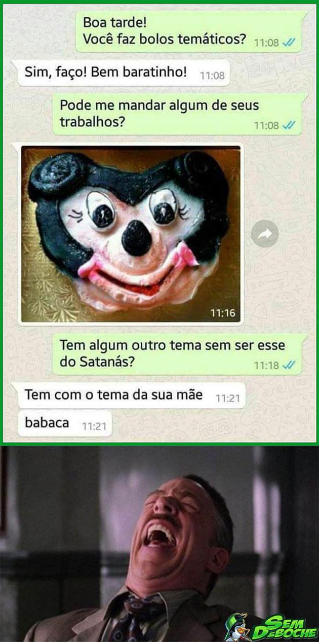 BOLO DO SATANÁS