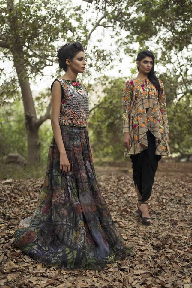 Nida Azwer Atelier ‎Summer Collection  2016