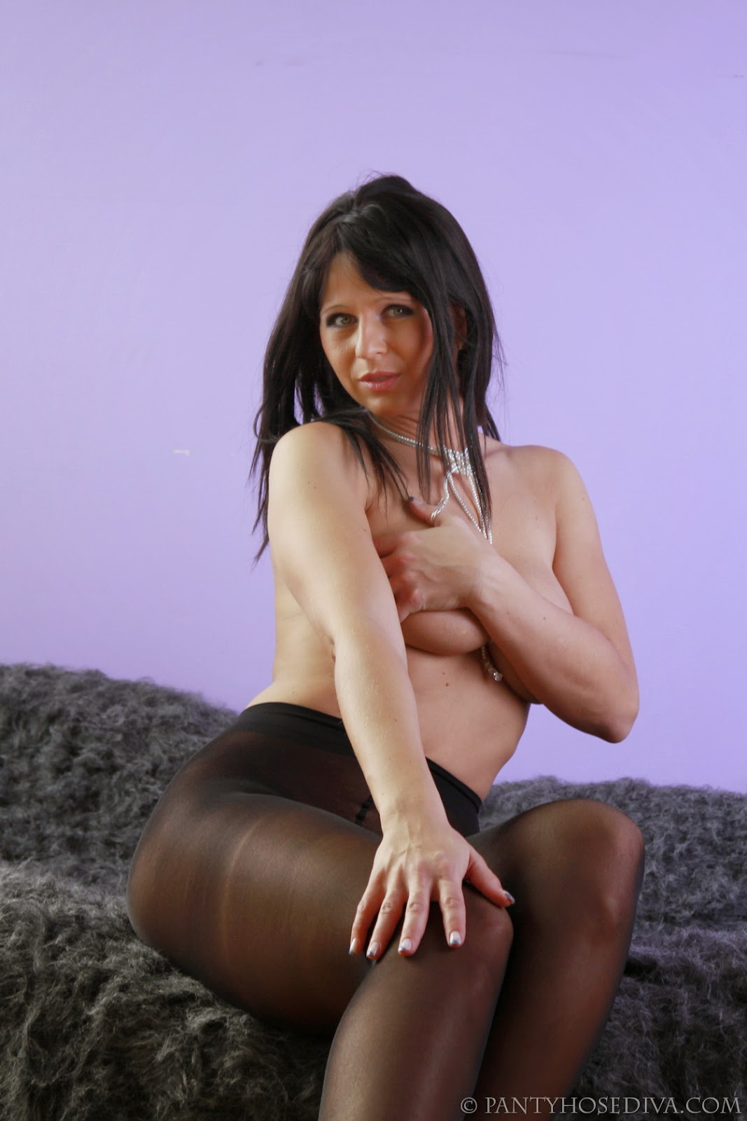 Haired Pantyhose 73