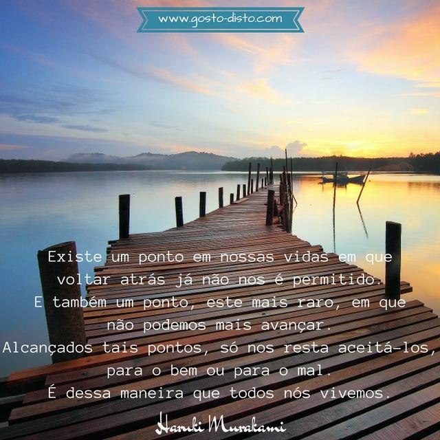 Frase de Haruki Murakami para refletir