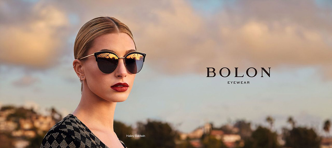Bolon Eyewear taps Hailey Baldwin for its 2017 campaign