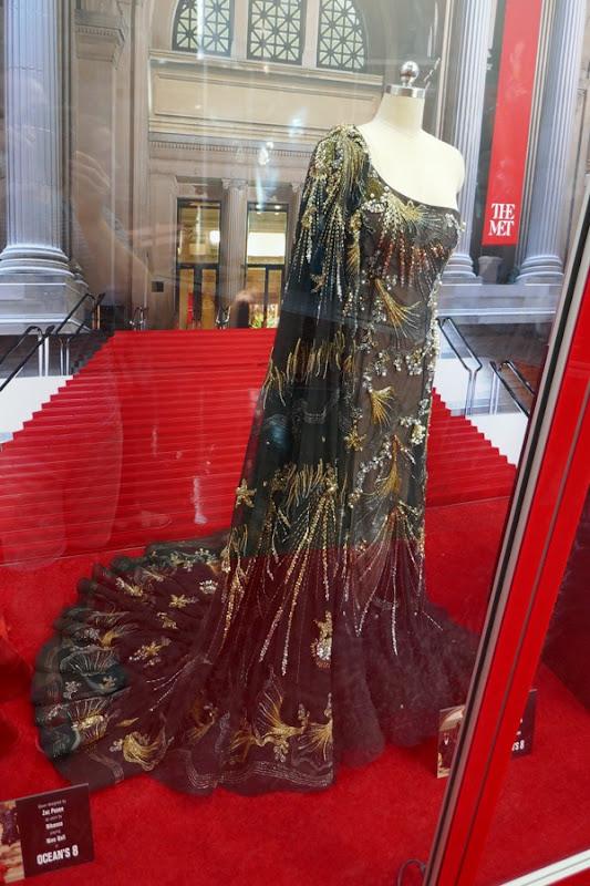 Sandra Bullock Oceans 8 Met Gala gown