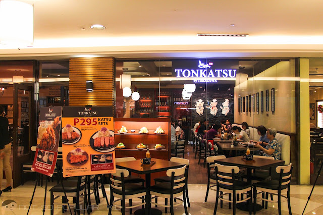 Tonkatsu by Terazawa in Lucky Chinatown Mall in Binondo