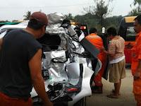 KM 85 Tol Cipularang Makin Angker, 5 Mobil Kecelakaan