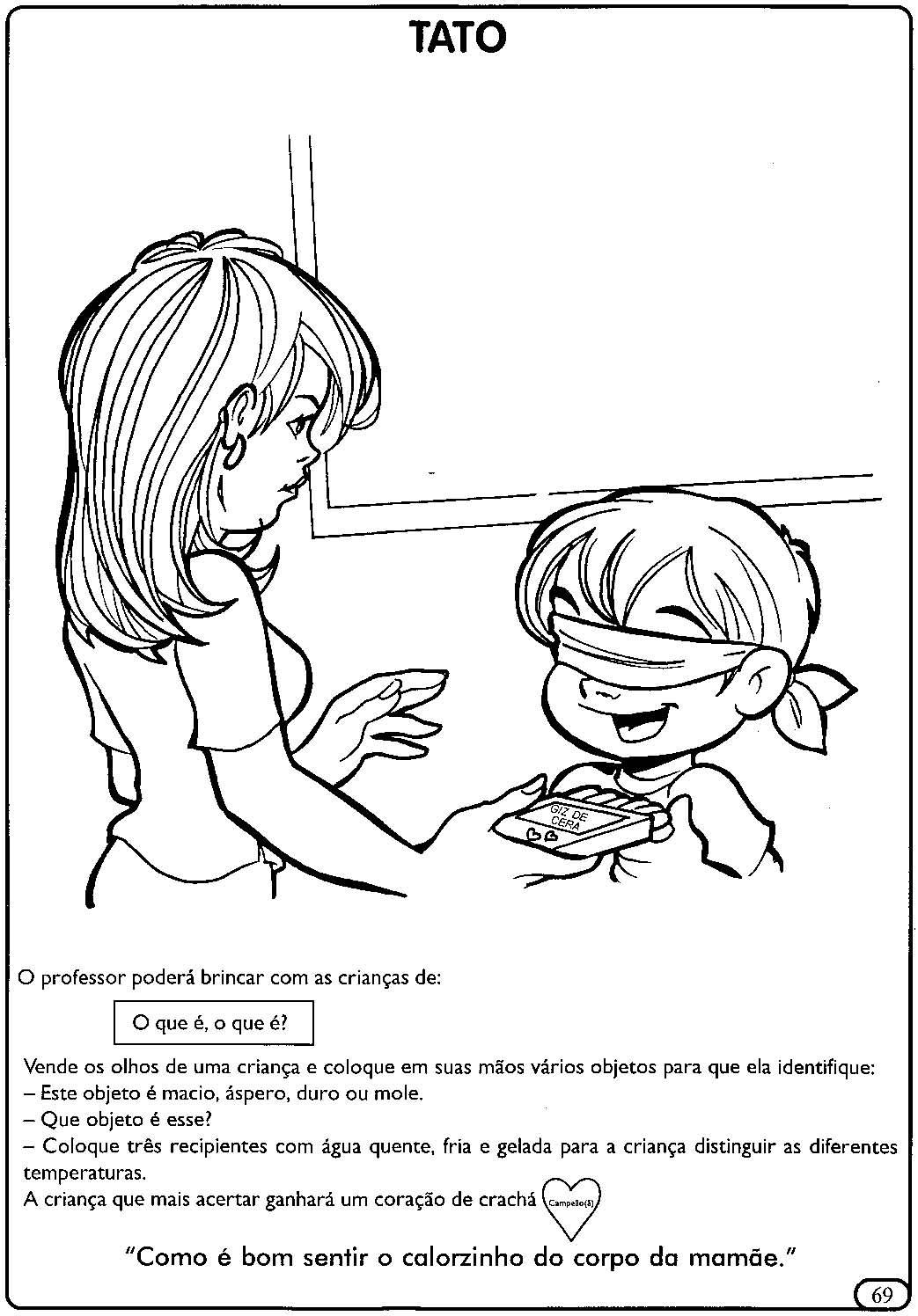 atividades para educação infantil órgãos dos sentidos espaÇo educar