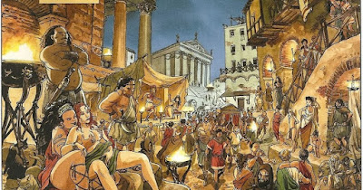 UN PRETORIANO DE PERMISO POR ROMA - Bellumartis Historia Militar