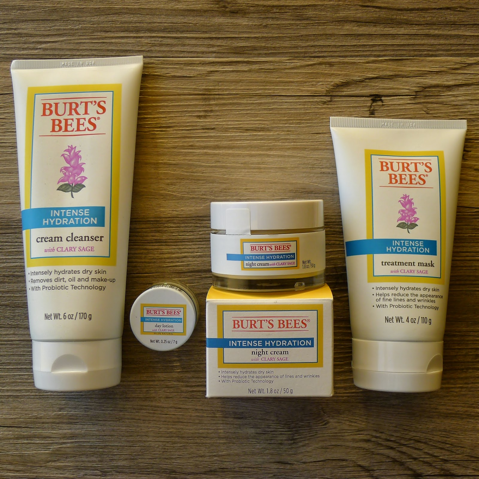 Hydration Skin Care: New Year, New Skin Care Regimen From Burt's Bees Intense