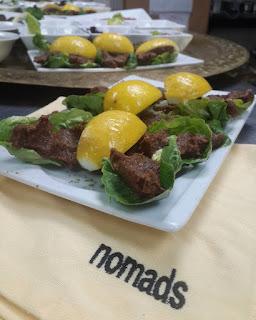 nomads clup menu bekarlıga veda eglence yemek