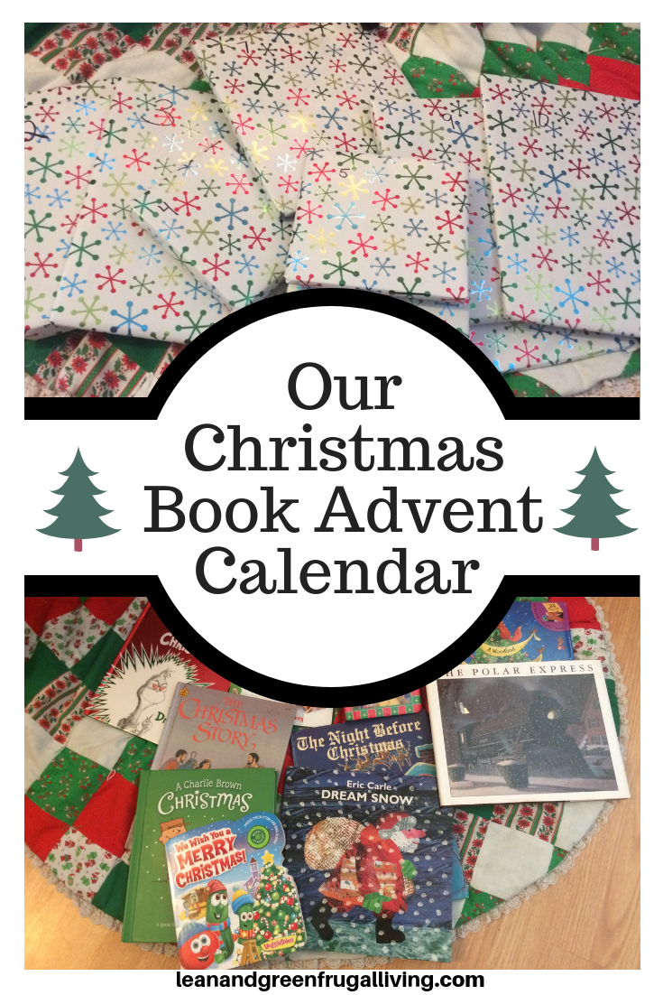 Our Christmas Book Advent Calendar Countdown
