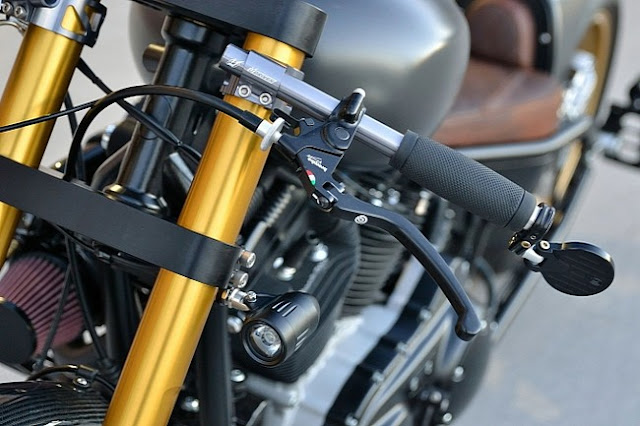 Harley Davidson Sportster 1200 Turbo Destroyer: Kẻ Hủy Diệt