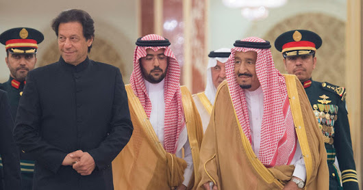 Pakistan PM Imran Khan in Saudi Arabia