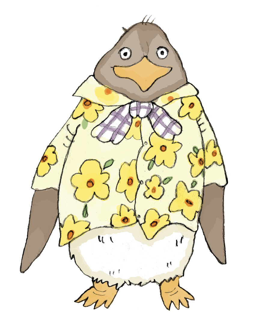 tacky the penguin coloring pages - photo #28