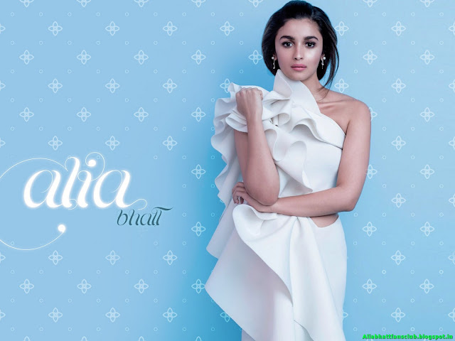 Alia Bhatt HD Latest Widescreen Wallpaper