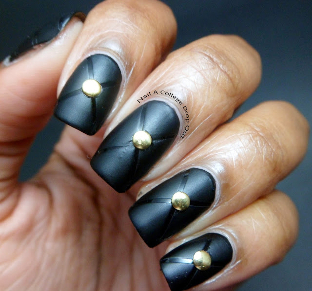 Nail A College Drop Out Nail Art Society I Love Studs