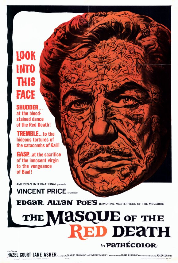 "cinematic catharsis the masque of the red death  1964 directed by roger corman written by charles beaumont and r wright campbell based on the story ""the masque of the red death "" by edgar allan poe"