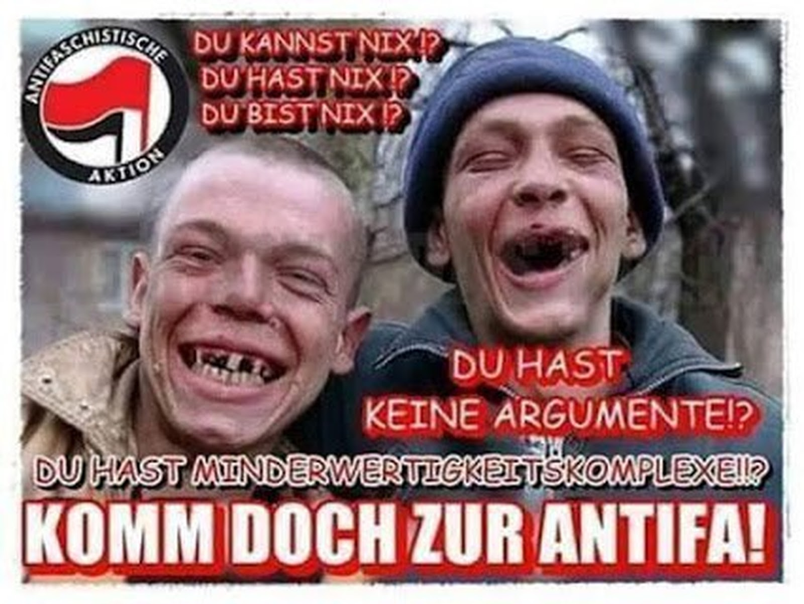 Antifa Witze