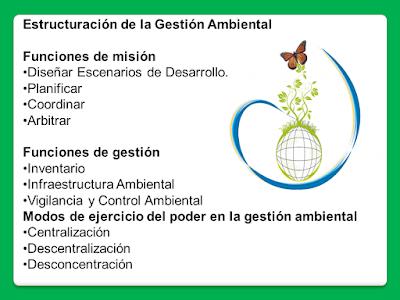 Estructura de la Gestión Ambiental