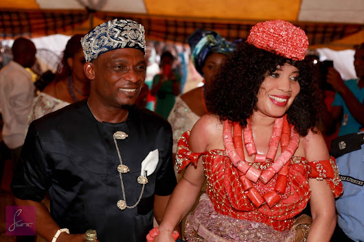 Monalisa Chinda and Her Man, Victor Tonye Coker Got Married Traditionally (Photos)