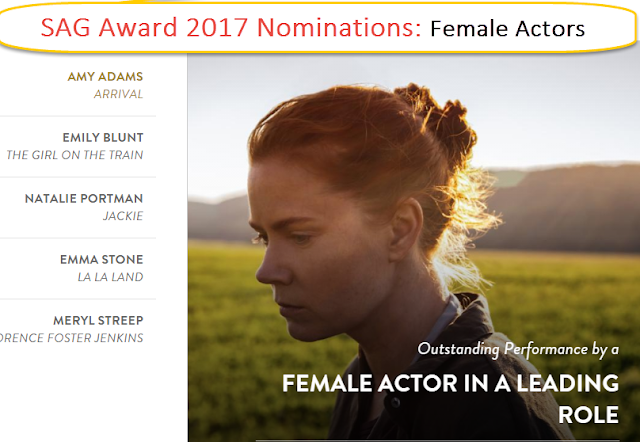 23rd Screen Actors Guild Awards 2017 (SAG Award 2017) Updates | Live | Nominations
