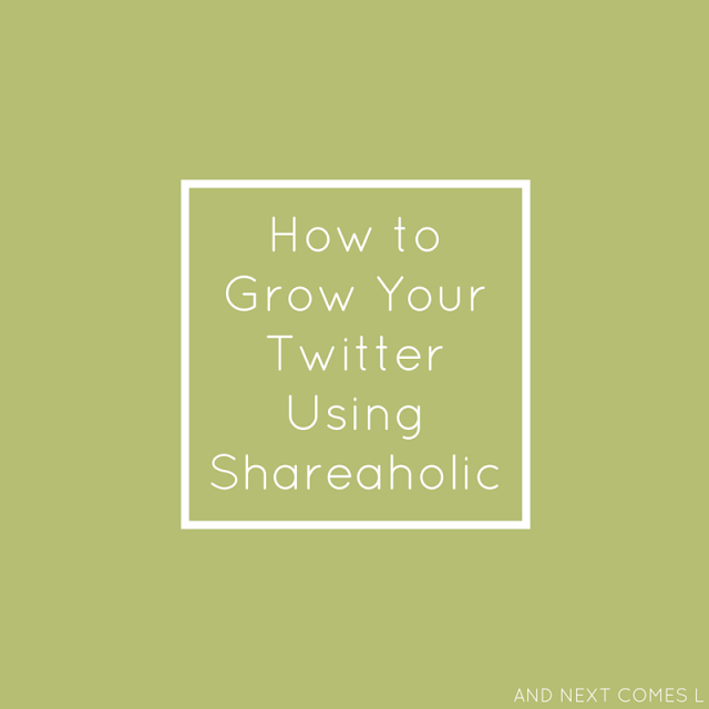 Do you use shareaholic on your blog? Then you need to read this 1 simple tip that will help you grow your twitter using shareaholic.