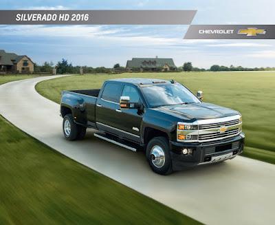 Downloadable 2016 Chevrolet Silverado 3500HD Brochure