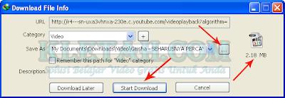 download video 3gp di youtube