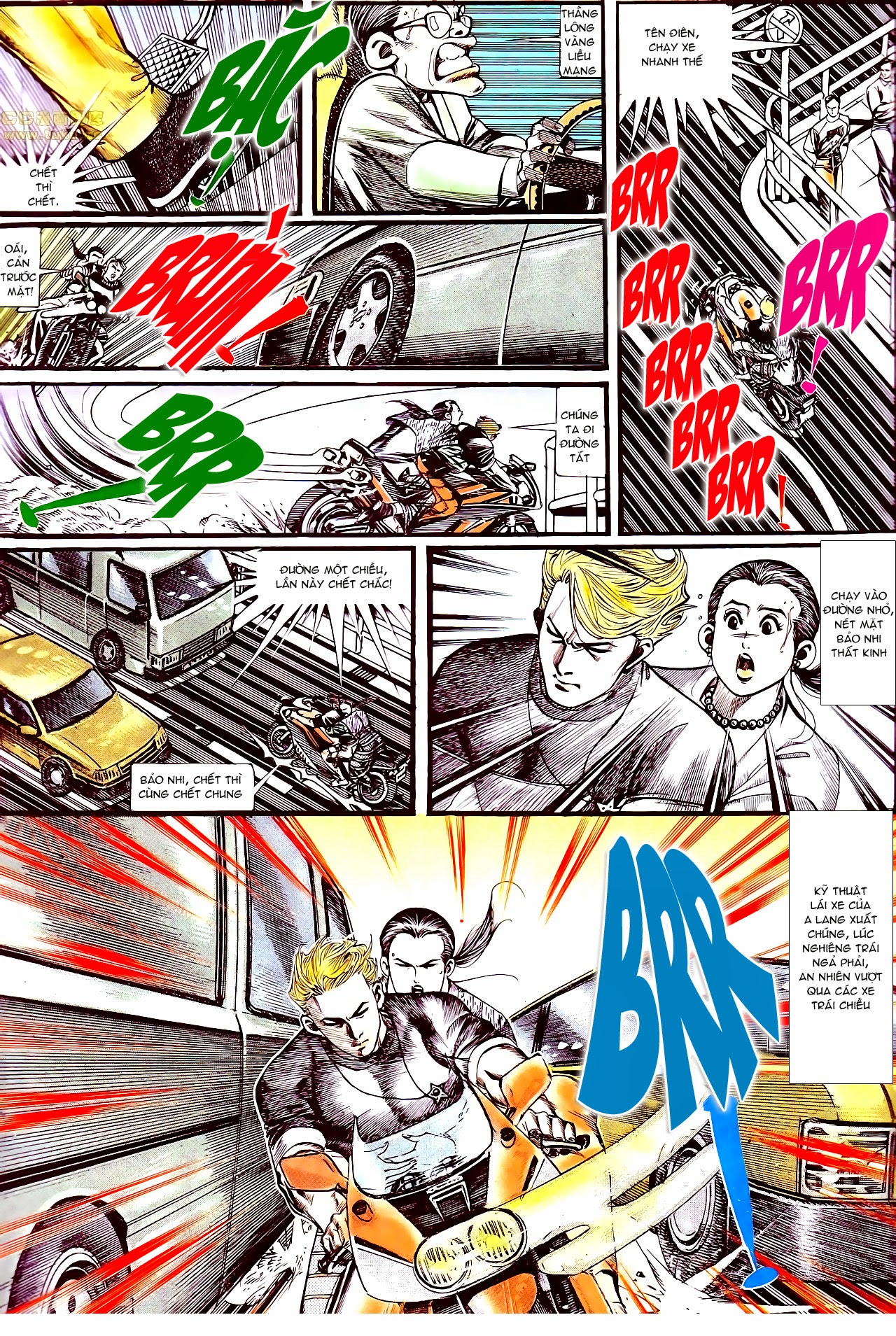 Người Trong Giang Hồ chapter 134: tấn công bảo nhi trang 18