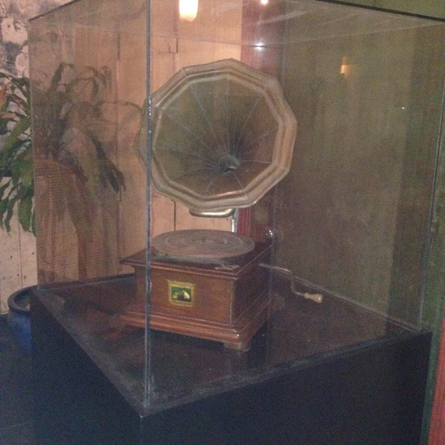 Old gramophone at the Museo Parian sa Sugbo