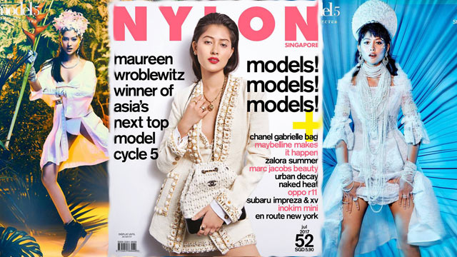 Filipina-German Maureen Wroblewitz Won Asia's Top Model Cycle 5