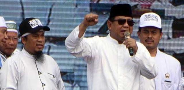 Prabowo: Saya Nggak Mau Beri Keterangan Ke Media Nggak Jelas