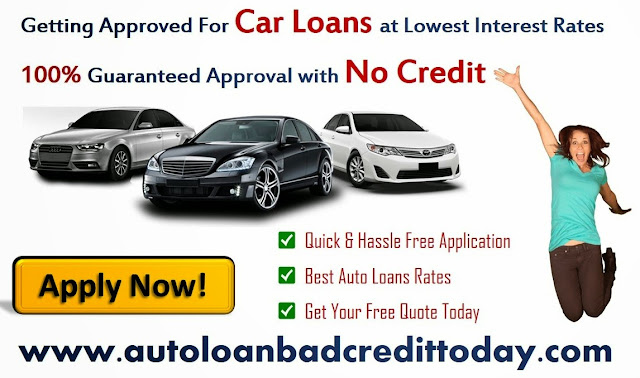 Car loans for someone with no credit history