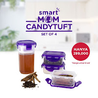 Dusdusan Smart Mom Candytuft Set of 4 ANDHIMIND
