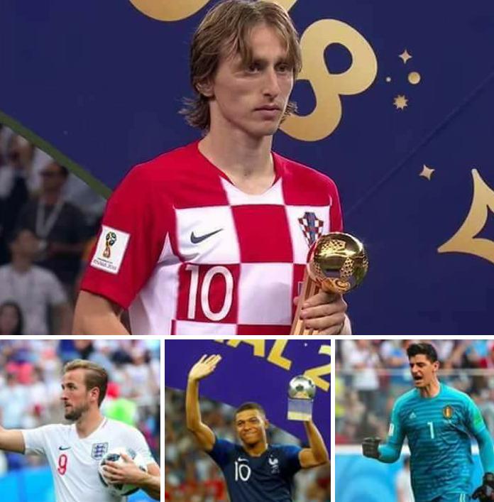 Russia 2018 World Cup: Wadanda suka sami kyautuka daga FIFA bayan kammala wasan a yau a Kasar Russia