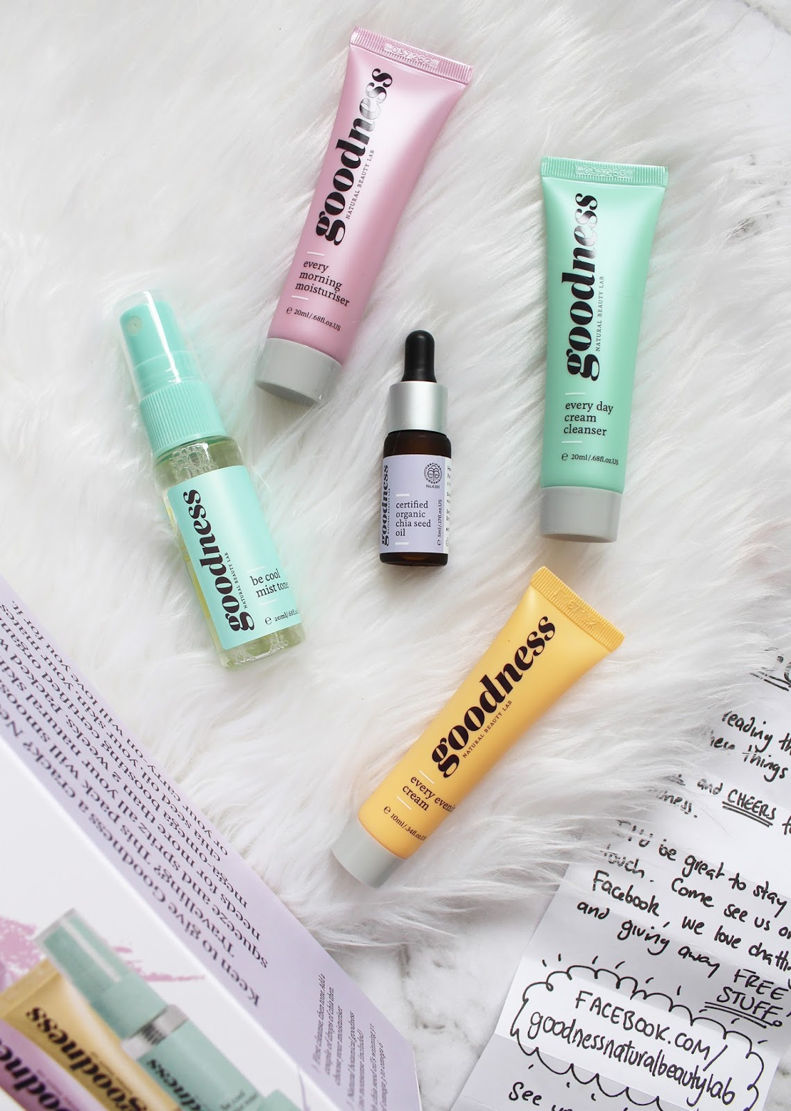 GOODNESS PRODUCTS | On-The-Go Skincare Kit - CassandraMyee
