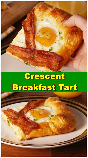 Crescent Breakfast Tart