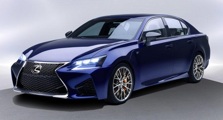 All New 2016 Lexus Gs F Has A 467hp 5 0 Liter V8