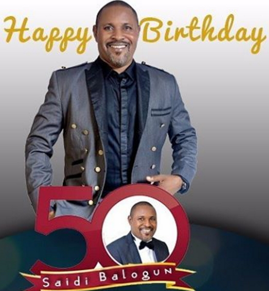 saidi balogun 50th birthday party