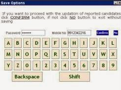 enter your password and mobile number